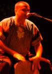 Stéphane Grondin lors d'un concert